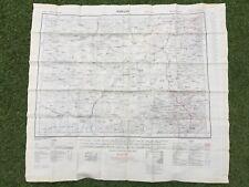 Original Cold War Issue 1950s British RAF SAS Kweilin Fu-Chou Silk Escape Map