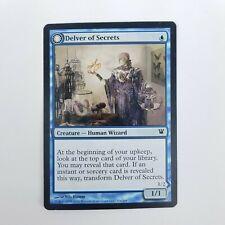 Delver of Secrets / Insectile Aberration Innistrad NM Common Card Blue Creature