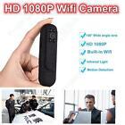 1080P Mini Camera Wearable Body Video Police DVR 140 Degree Lens Loop Recording