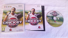 JUEGO COMPLETO ASHES CRICKET 2009 NINTENDO WII PAL UK INGLÉS. BUEN ESTADO.