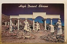 California CA Yucca Valley High Desert Shrine Postcard Old Vintage Card View PC