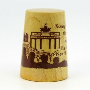 WOODEN THIMBLE, 'TEARING DOWN THE WALL BEGINS, THE TIMES, NOV 11 1989'