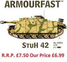 Nouveau ARMOURFAST 1/72 german stuh 42 tank model kit-contient 2 chars (13267)