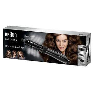 Braun Satin Hair 5 AS530 Brush Sine Ionic Technology Bodyshaper Crimps And Dry