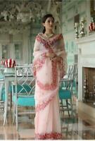 Saree Soft heavy organza sari heavy digital printed Saree Party and Wedding wear