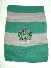 Scarf Novelty Cosplay Harry Potter Slytherin Grey and Silver