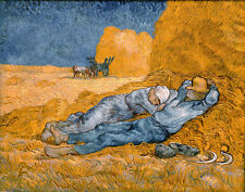 A3 - VINCENT VAN GOGH  SIESTA- FAMOUS PAINTERS CLASSIC PAINTINGS Posters #4