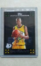 Topps kevin Durant rookie card autograph