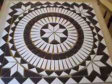 Rosace/Mosaique en carrelage  67x67 cm
