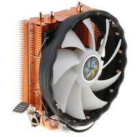 12V 3Pin Colorful LED 120mm PC CPU Cooling Fan Heat Dissipation Quiet Cooler