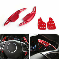 Steering Wheel Volant Shift pagaie shifter Pour Chevrolet Camaro 2016-19 Rouge A