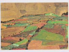 Egon Schiele Lithograph Hill Near Knamau, N13