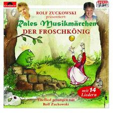 Rolf Zuckowski Der Froschkönig Rales Musikmärchen 1xCD Neu+in Folie#L2