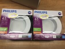 4 Pack Philips LED Downlight 65W Equivalent Dimmable Soft White 5 or 6 Inch