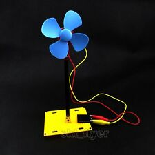 Solar Windmill Fan Model Car Kit DIY Models Children  Hobby Robotics