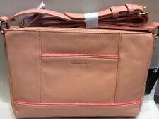 Bnwt Pebble Leather Shoulder Bag By Tignanello, Peach, With RFID Pocket.