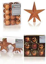 Décorations Arbre de Noël Arbre de noël boules pailleté Gloss & MAT CUIVRE