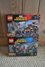 Lego 76053 76050 Marvel Super Heroes Gotham City Cycle Chase Crossbones Heist