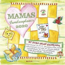 Mamas Familienplaner 2020 - Broschürenkalender (30 x 60 geöffnet) - mit 5 Spalte