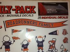 NIP UTSA ROADRUNNER FAMILY-PACK MOVABLE DECAL by STOCKDALE~STICKERS FOOTBALL