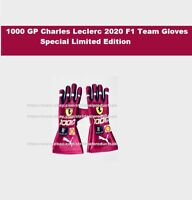 Charles Leclerc Race gloves 2020 F1 Gloves 1000gp Special edition Karting Gloves