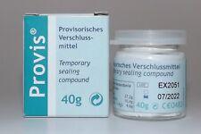 Zahnzement provisorische  Zahnfüllung Provis Favodent 40g Glas