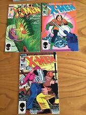 UNCANNY X-MEN #181-#186 BUNDLE 1984