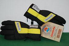 vintage invicta gore-tex thermo ski gloves guanti winter snowboard FISI basic