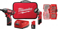 Milwaukee Electric Screwdriver LED Worklight Kit 1/4 in. Hex 12-Volt Cordless