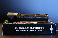 Solarforce L2P Flashlight with PflexPro 3.8A 1300+ OTF Lumens  U4 1A LED Drop In