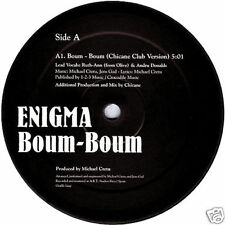"12"" - Enigma - Boum-Boum (Chicane &  Wally Lopez) (CLUB RMXS) ""PROMO"" NEW LISTEN"
