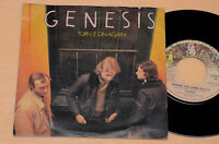 "GENESIS 7"" 45 TURN IT ON AGAIN-PROG 1°ST ITALY CHARISMA LABEL"