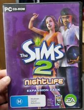 The Sims 2 Nightlife - PC GAME - FREE POST *
