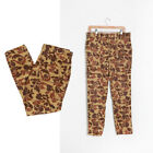 Vintage 70s Wolverine Camo hunting camping cargo pants W35 L29
