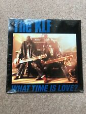 """The KLF – What Time Is Love? - USA 12"""" vinyl - M/S"""