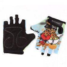 Cycling Breathable SAHOO Shockproof Bike GEL Child Lovely Half Finger Glove S-XL