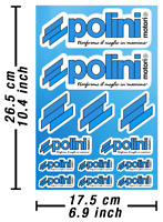 Polini Aufkleber Stickers Vinyl Ersatz Autokollant Decals Adesivi / 627
