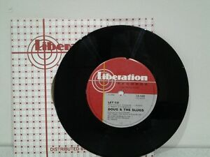 """Doug And The Slugs Day By Day Vinyl Record 7"""" Single"""
