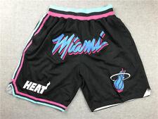 pocket Miami Heat mens balck short pants