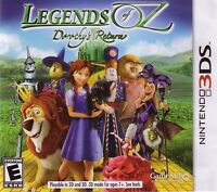 Legends of Oz Dorothy's Return 3DS NEW! WIZARD, LION, TIN MAN, FAMILY FUN GAME!