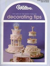 NEW!! Wilton ***USES OF POPULAR DECORATING TIPS*** Book