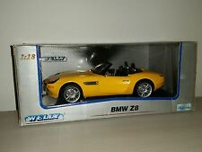 BMW Z8 GIALLA NO.9843W  WELLY SCALA 1:18