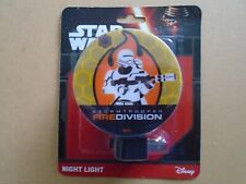 """Star Wars Night Light """"StormTrooper Fire Division"""" New In Package"""
