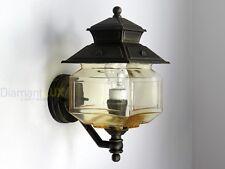Applique Lampada parete Lanterna Classica alluminio esterno giardino Surya 20110