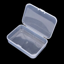 Clear Plastic Transparent With Lid Storage Box Collection Container CasG3