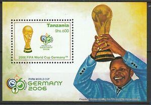 Tanzania 2006 Football FIFA World Cup Germany MNH Block
