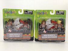 Ghostbusters MiniMates 2016 Movie Set 2 Packs Set Erin Jillian Abby  Patty