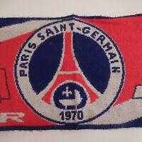 Echarpe 1970 Allez Paris Saint Germain Football Club officiel France N4608