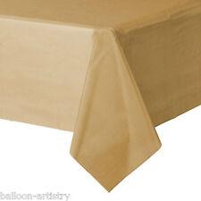 54x108in GOLD PLASTIC Tablecover TOVAGLIE Panno WEDDING RISTORAZIONE