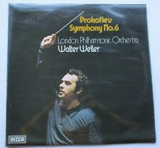 DECCA SXL6777 PROKOVIEV SYMPHONY No6 WALTER WELLER LONDON PHILHARMONIC ORCHESTRA
